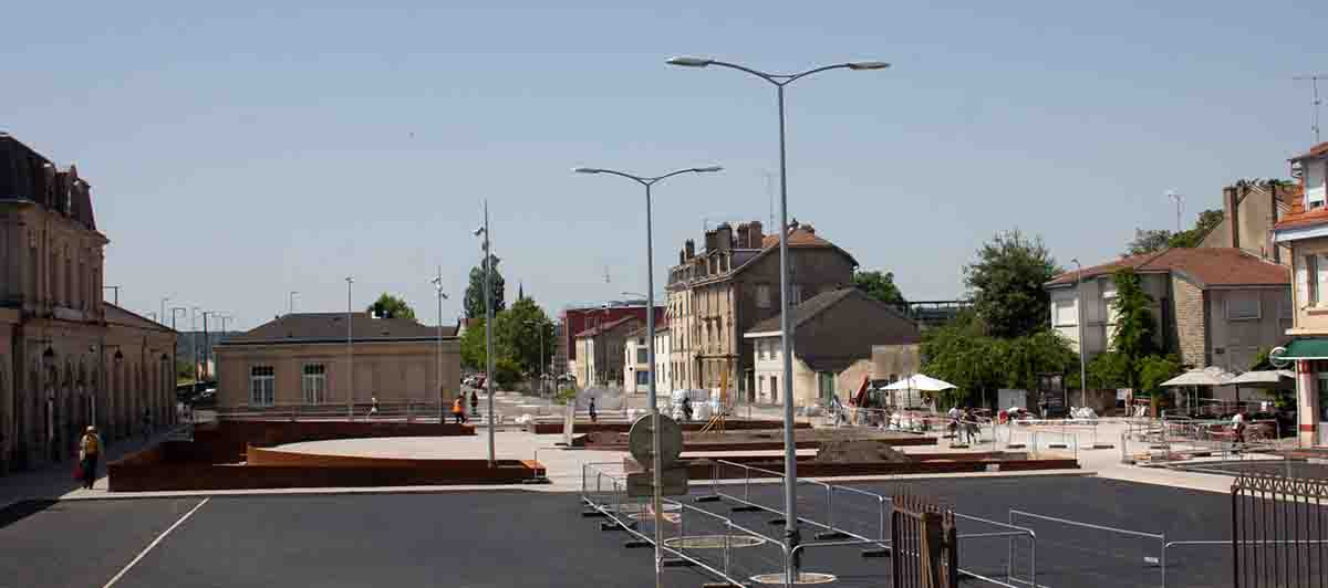 POINT TRAVAUX GARE