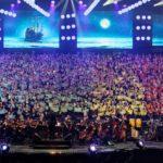 Assister au concert des 2000 Choristes