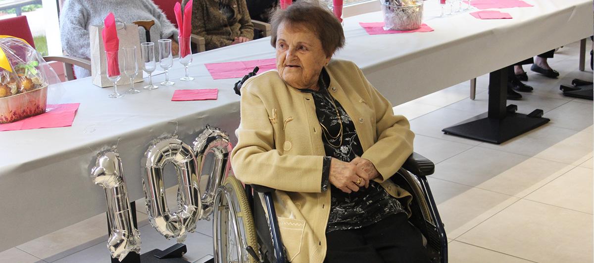 Une centenaire à Boffrand