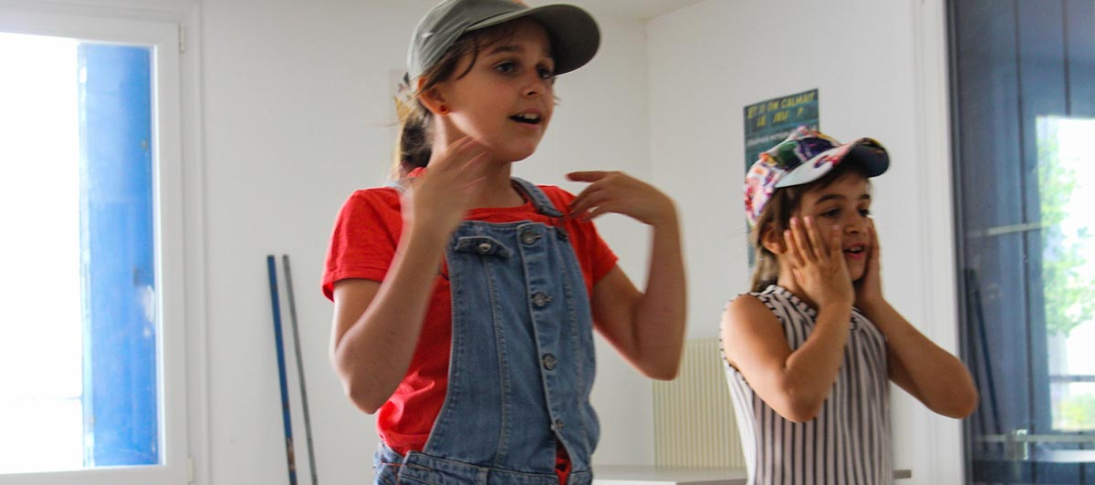 Théâtre d'improvisation pour les enfants du DRE